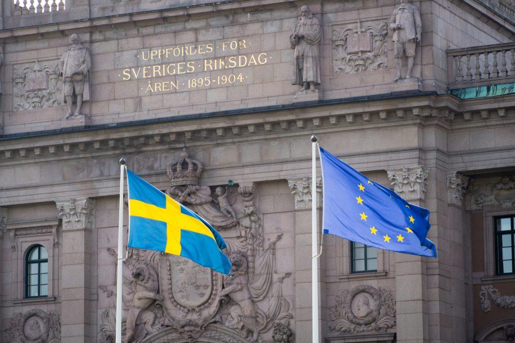 Švedska Eu zastave