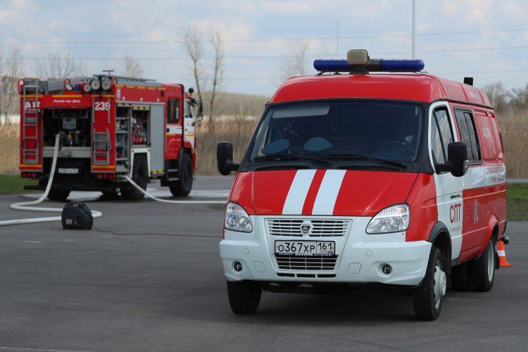 Rusija, požar vatrogasci,
