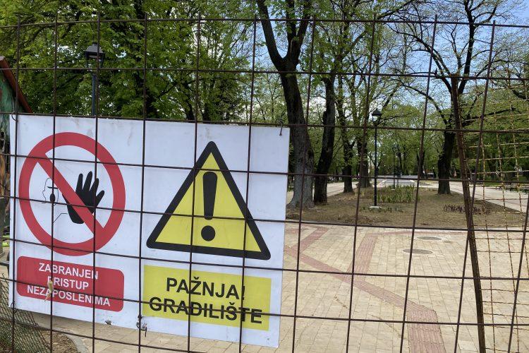 VRANJE: Gradski park