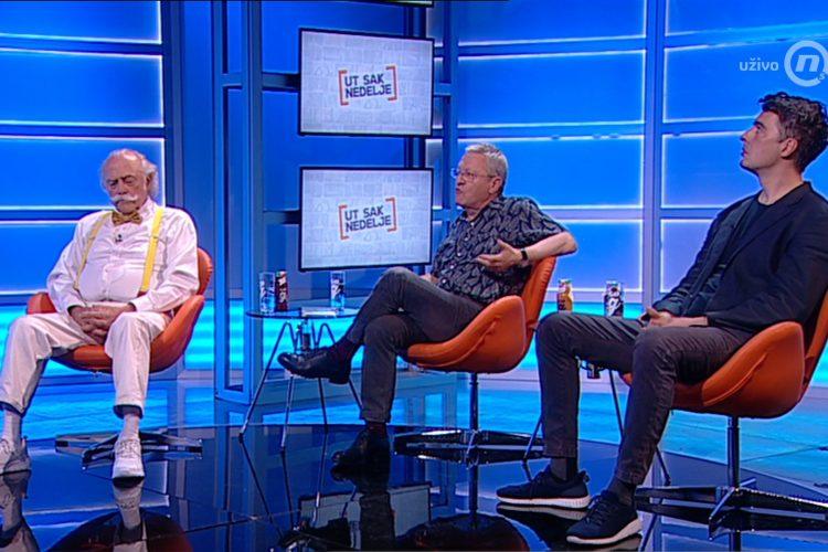 Olja Bećković, Dragoljub Bakić, Dragan Velikić, Đorđe Miketić, emisija Utisak nedelje
