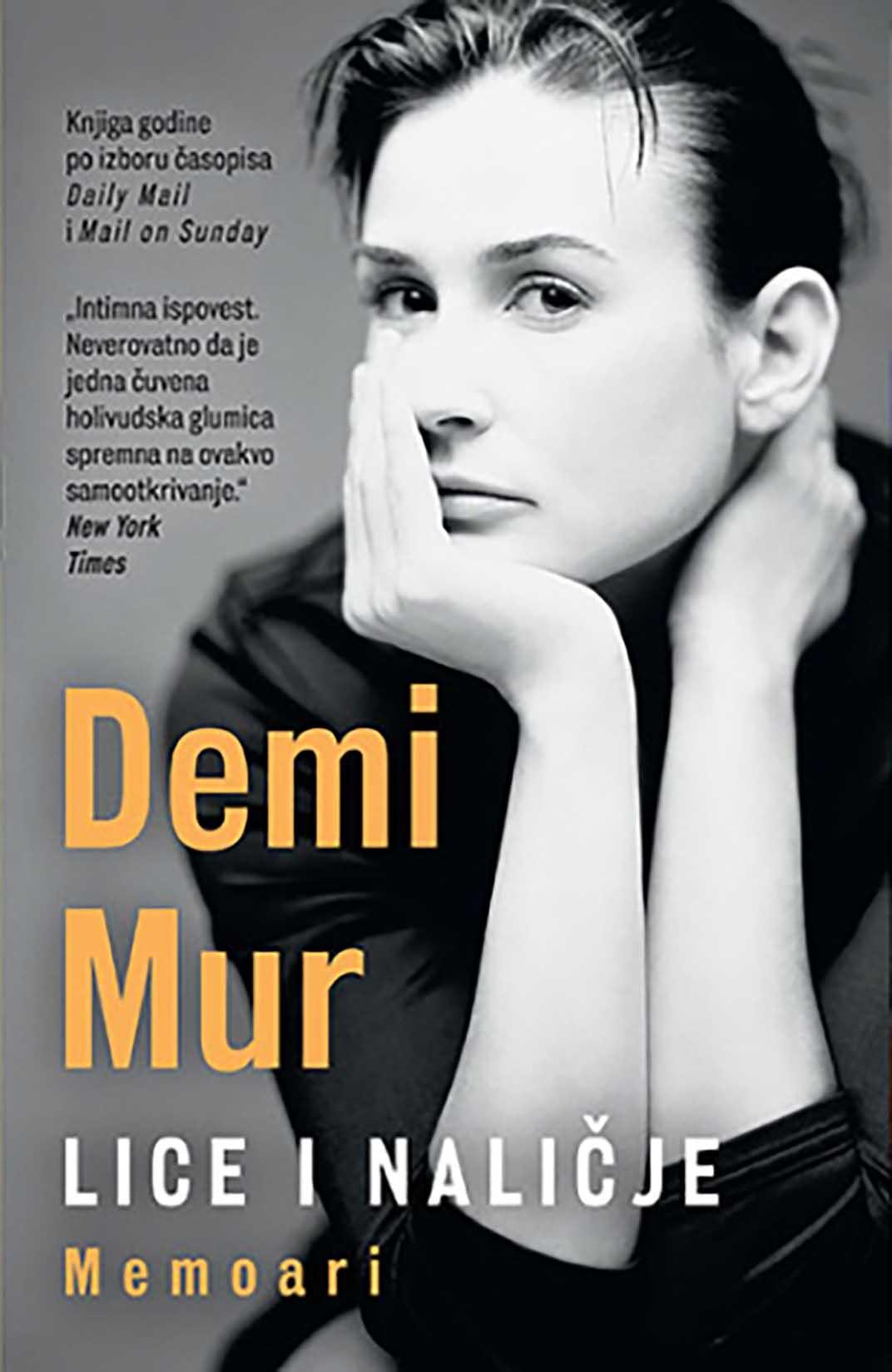 Demi Mur, autobiografija, knjiga, korice