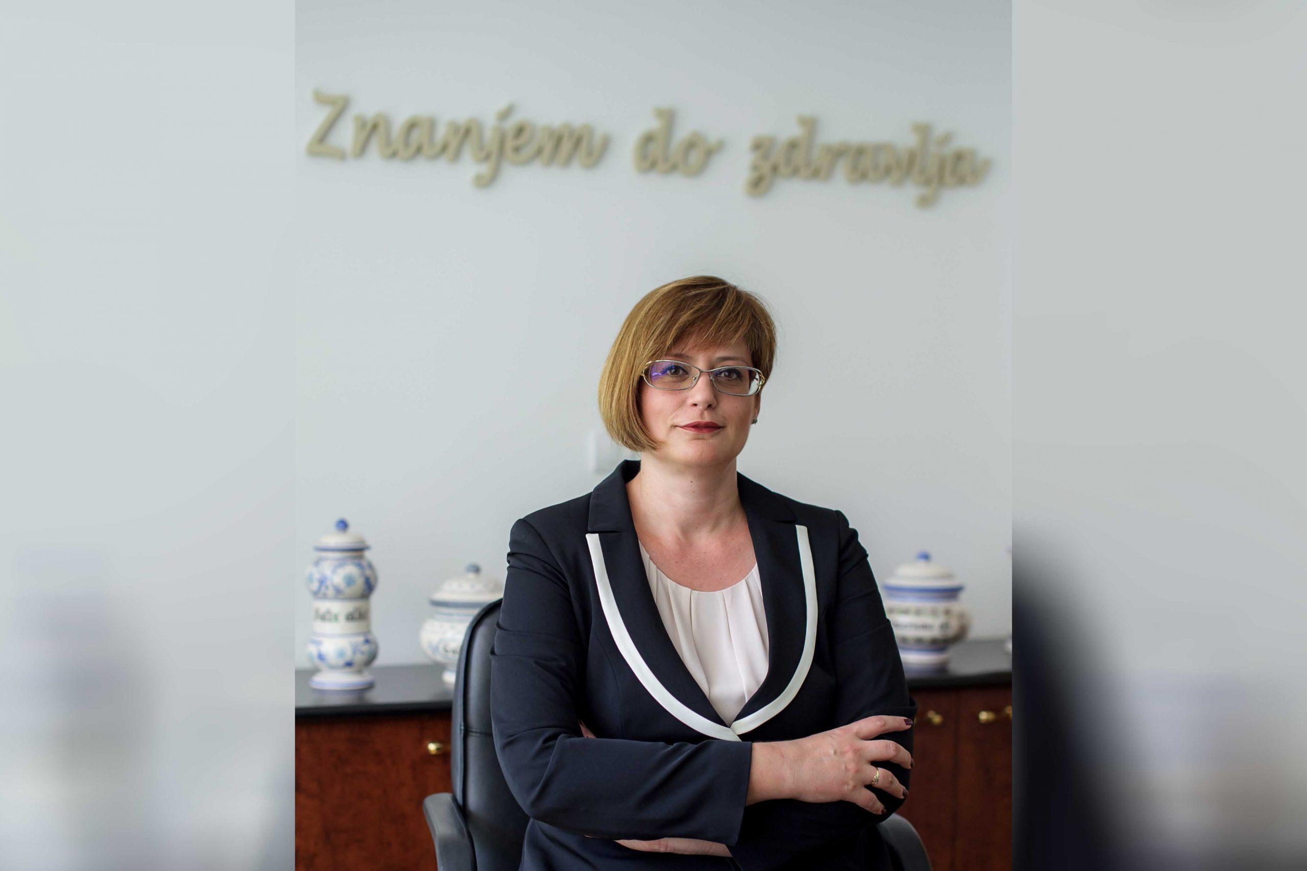 Tatjana Šipetić, direktorka Farmaceutske komore Srbije