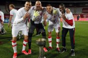 Milan Borjan, Milan Rodić, Marko Gobeljić, El Fardu Ben, FK Crvena zvezda