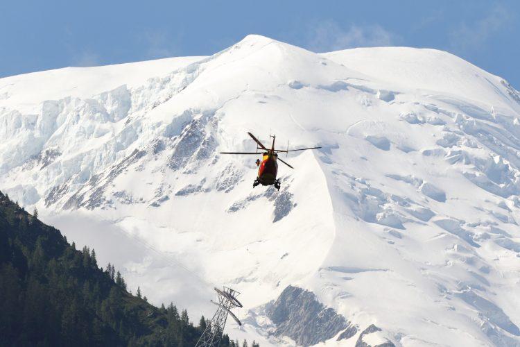 Lavina, Francuski Alpi, skijaši