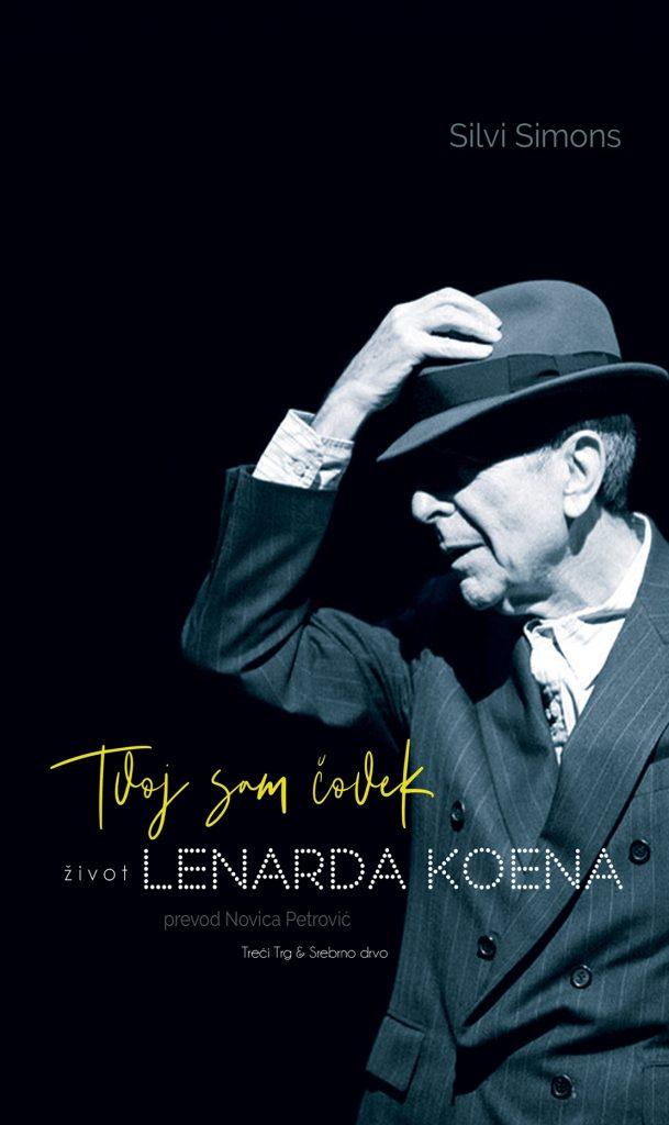 Tvoj sam čovek Život Lenarda Koena, knjiga, korice