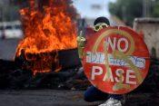 Protest Kolumbija