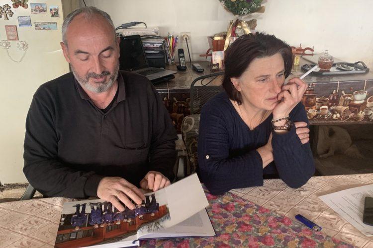 Milovan Milivojevic sa suprugom