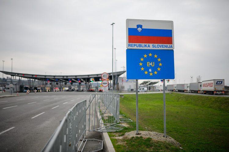 Slovenija Hrvatska granica prelaz