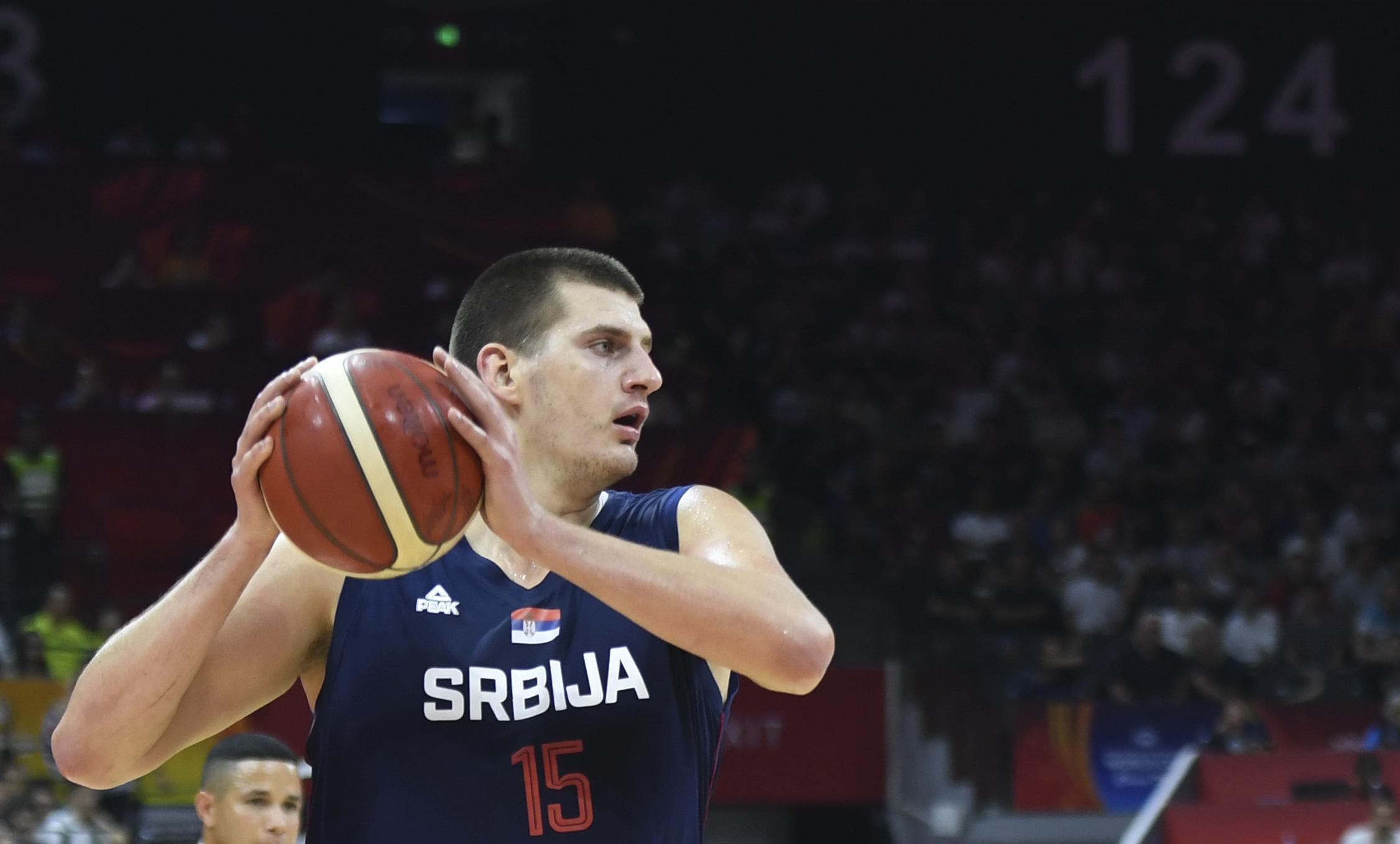 Nikola Jokić košarkaška reprezentacija Srbije