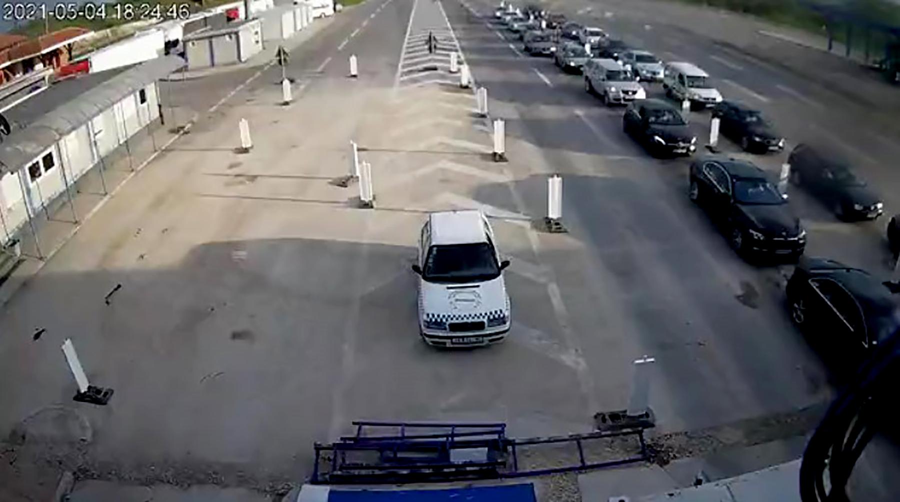 Presevo ulaz u Srbiju iz Severne Makedonije