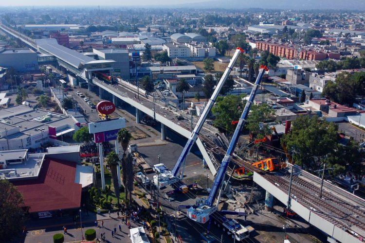 Meksiko Meksiko siti srusen nadvoznjak
