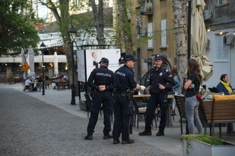 Policija Ulica Strahinjica Bana