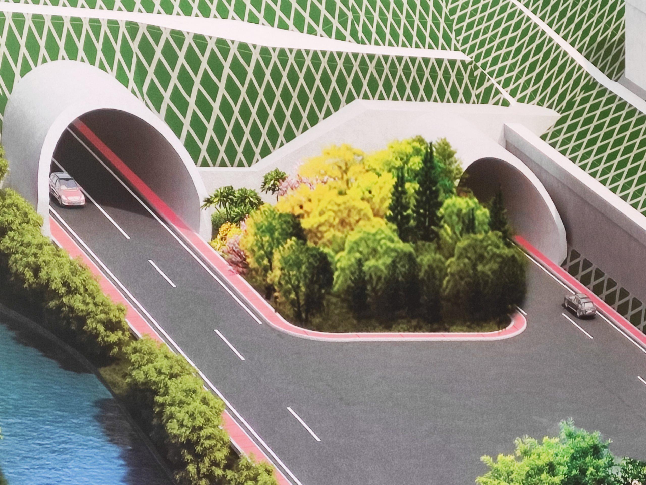 Maketa tunela na Fruškogorskom koridoru Fruskogroski koridor pocetak radovi