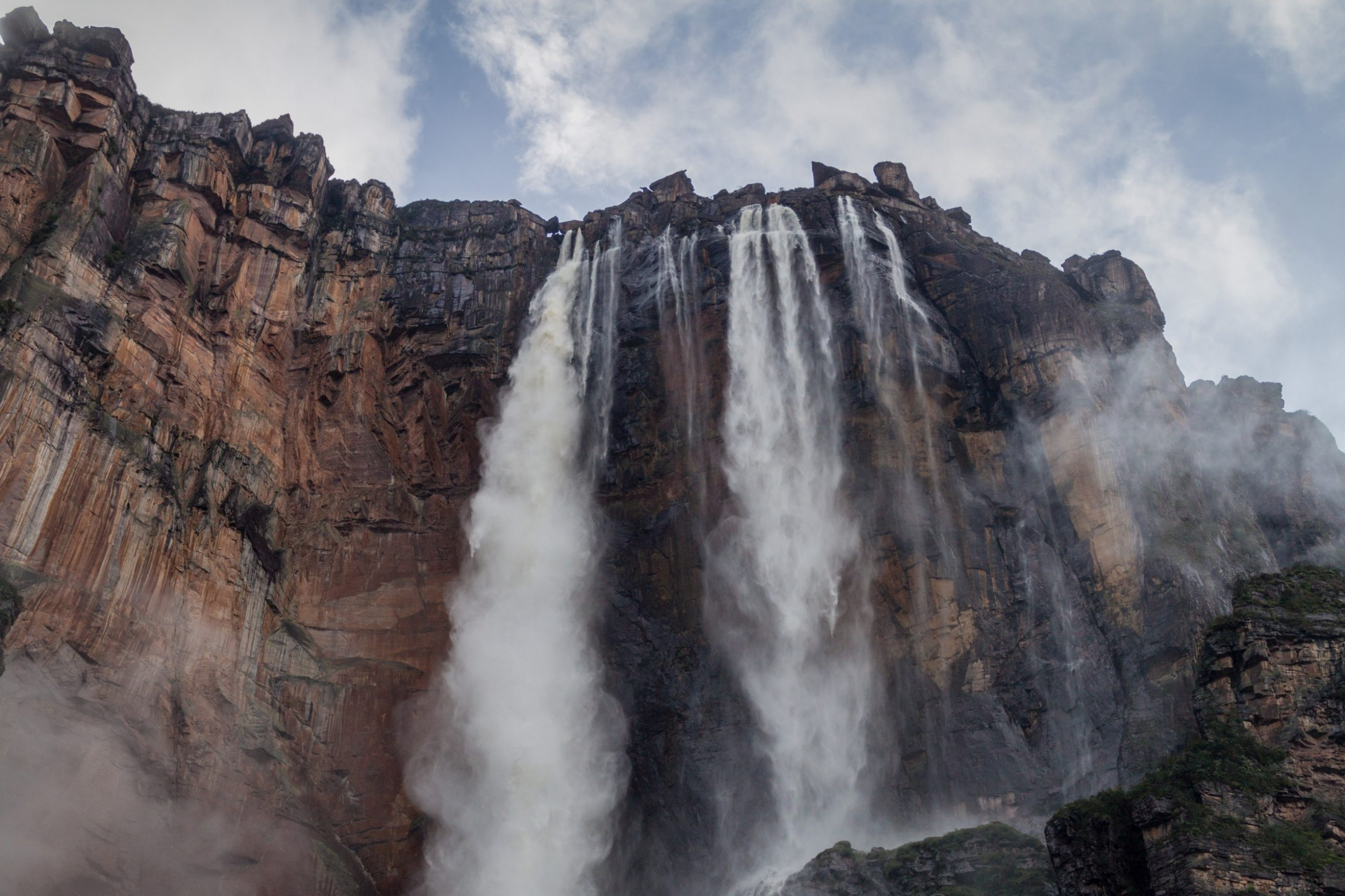 Angelovi slapovi Venezuela