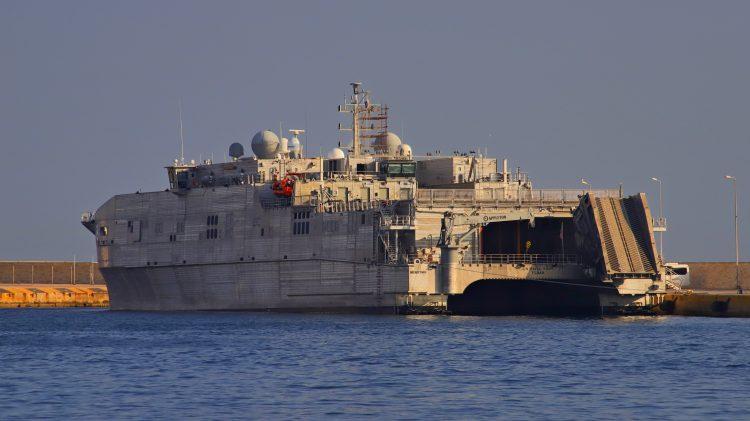 """Americki vojni brod """"Yuma"""""""