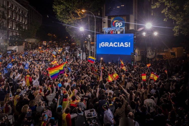 Spanija Madrid izbori