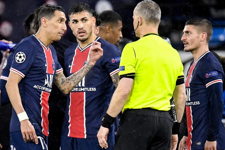 FK Mančester siti, FK Pari Sen Žermen sudija Kujpers