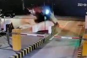 Nesreća na naplatnoj rampi