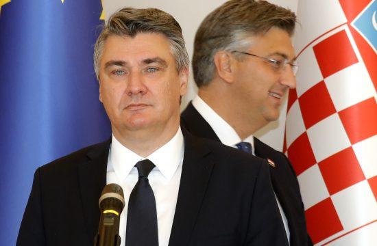 Zoran Milanović, Andrej Plenković