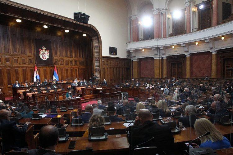Sednica Skupstine Srbije
