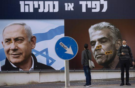 Benjamin Netanjahu i Jairu Lapid