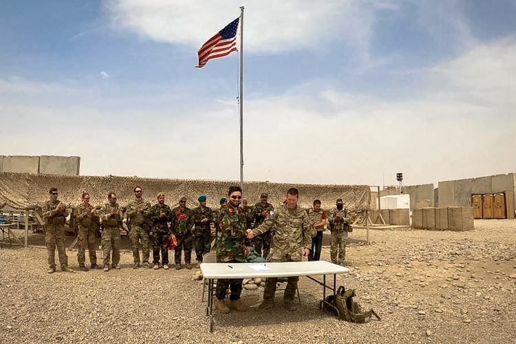 Americka vojska Avganistan