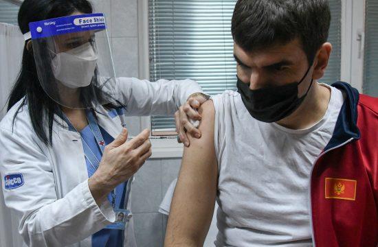 Crna Gora Podgorica vakcinacija