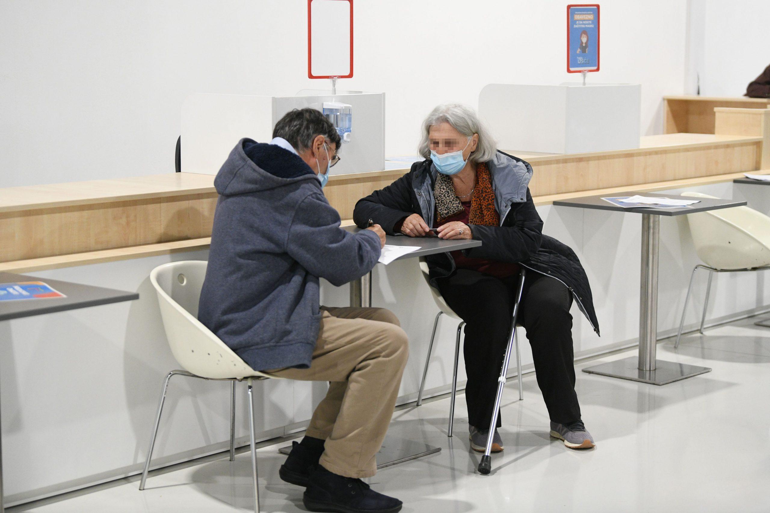 Vakcinacija Ušće šoping centar