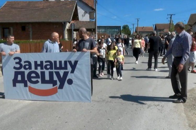 Kragujevac ulica blokada