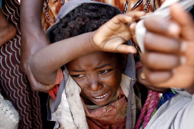Etiopija deca