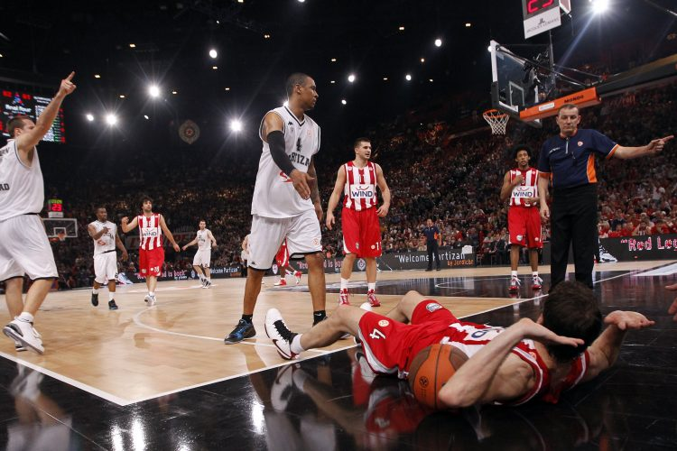 KK Olimpijakos, KK Partizan