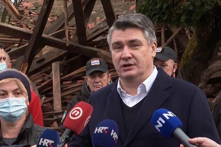Hrvatski predsednik Zoran Milanović