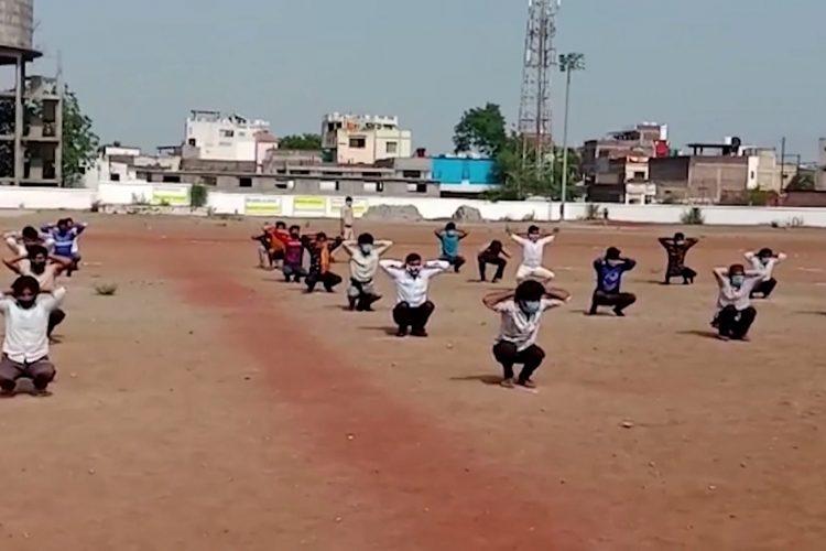 Trening u Indiji