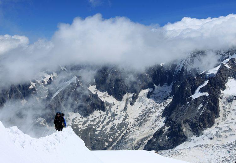 Francuski Alpi lavina