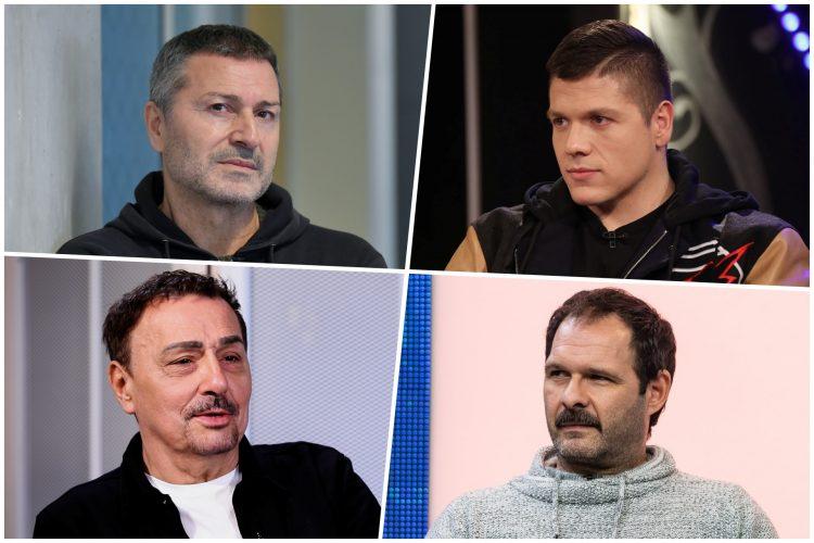Sloba Radanović pevač, Aleksandar Srećković Kubura glumac, Keba, Đole Đogani kombo