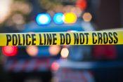 Tajms Skver pucnjava, policijska traka