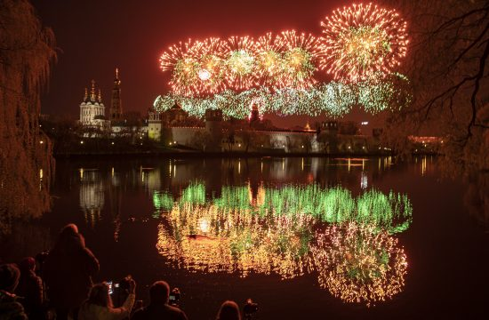 Moskva vatromet, dan pobede