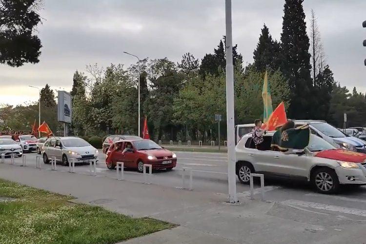 Auto-kolona u Podgorici