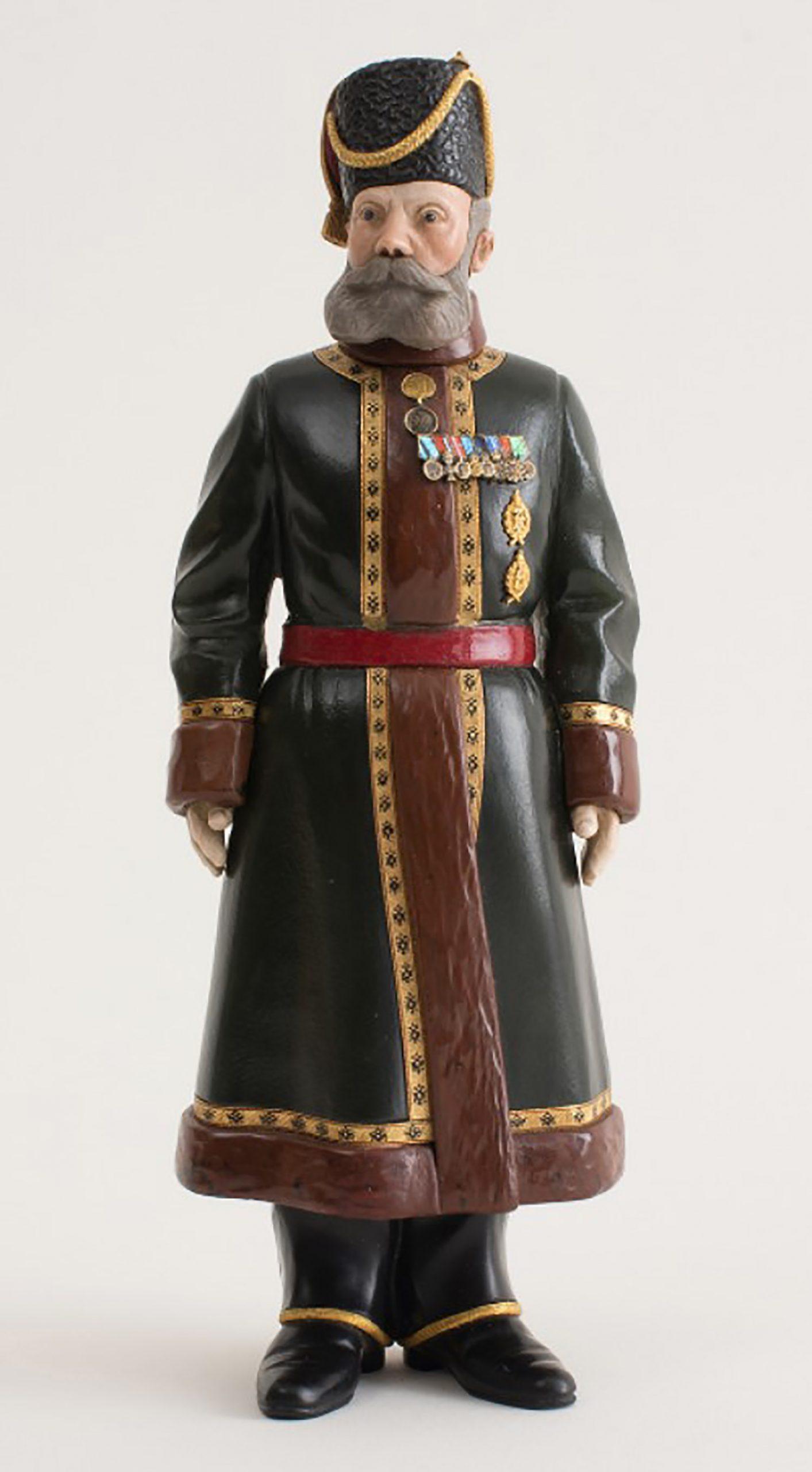 Fabergé figure of a Cossack Bodyguard