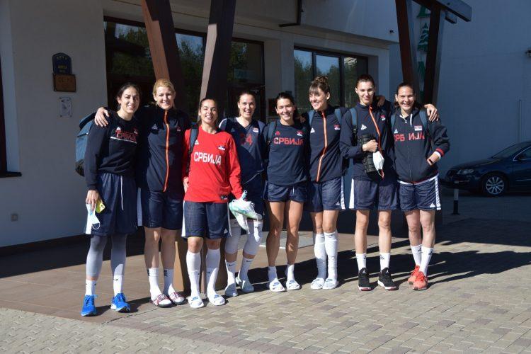 Ženska košarkaška reprezentacija Srbije na Zlatiboru