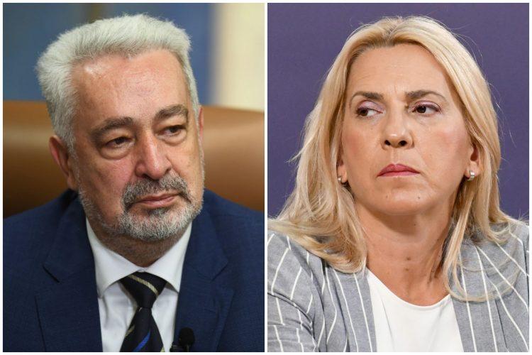 Zdravko Krivokapić, Željka Cvijanović