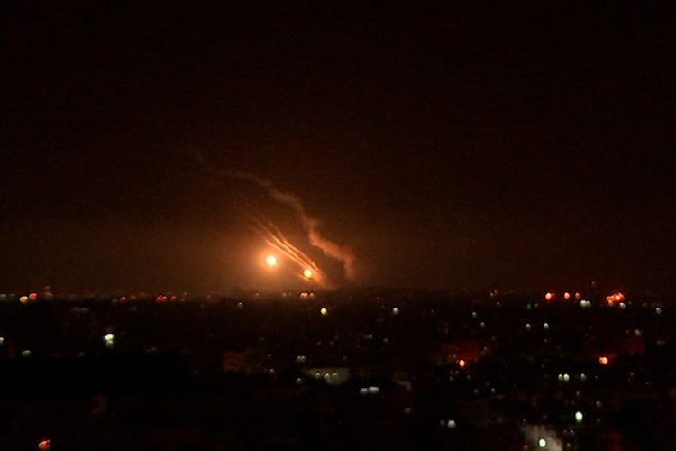 Raketna paljba izraelskih snaga