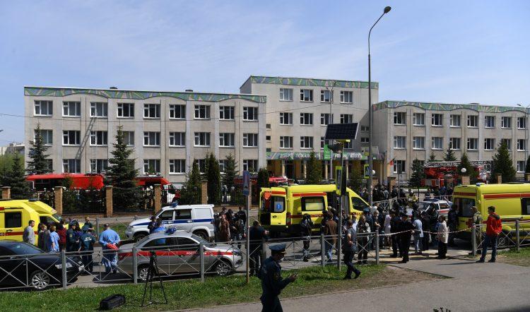 Kazanj Rusija pucnjava skola