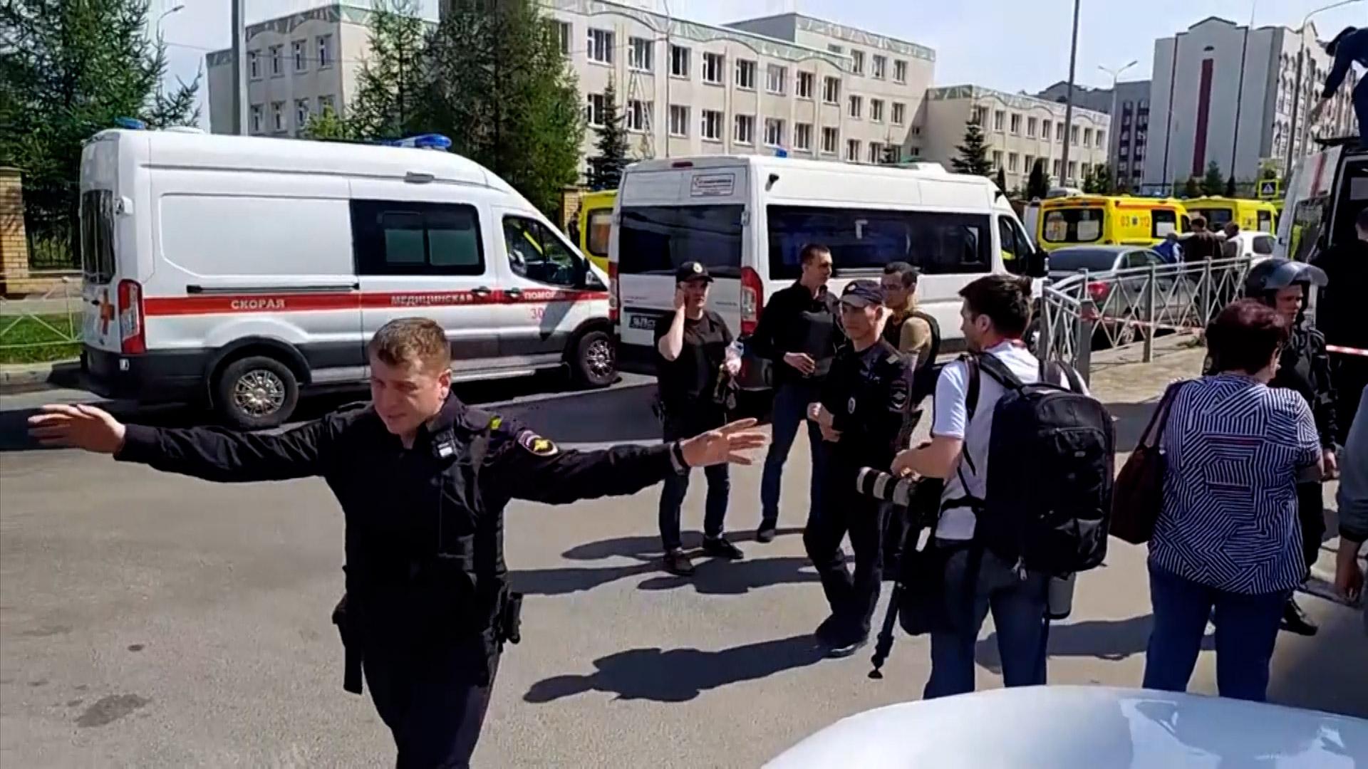 Pucnjava u Rusiji