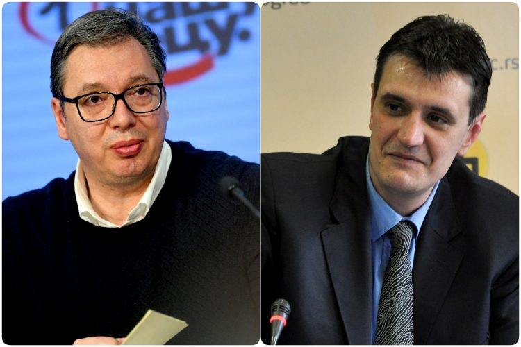 Aleksandar Vucic i Vladimir Cvijan