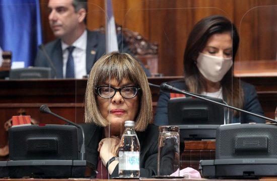 Skupstina Srbije sednica zasedanje Maja Gojkovic