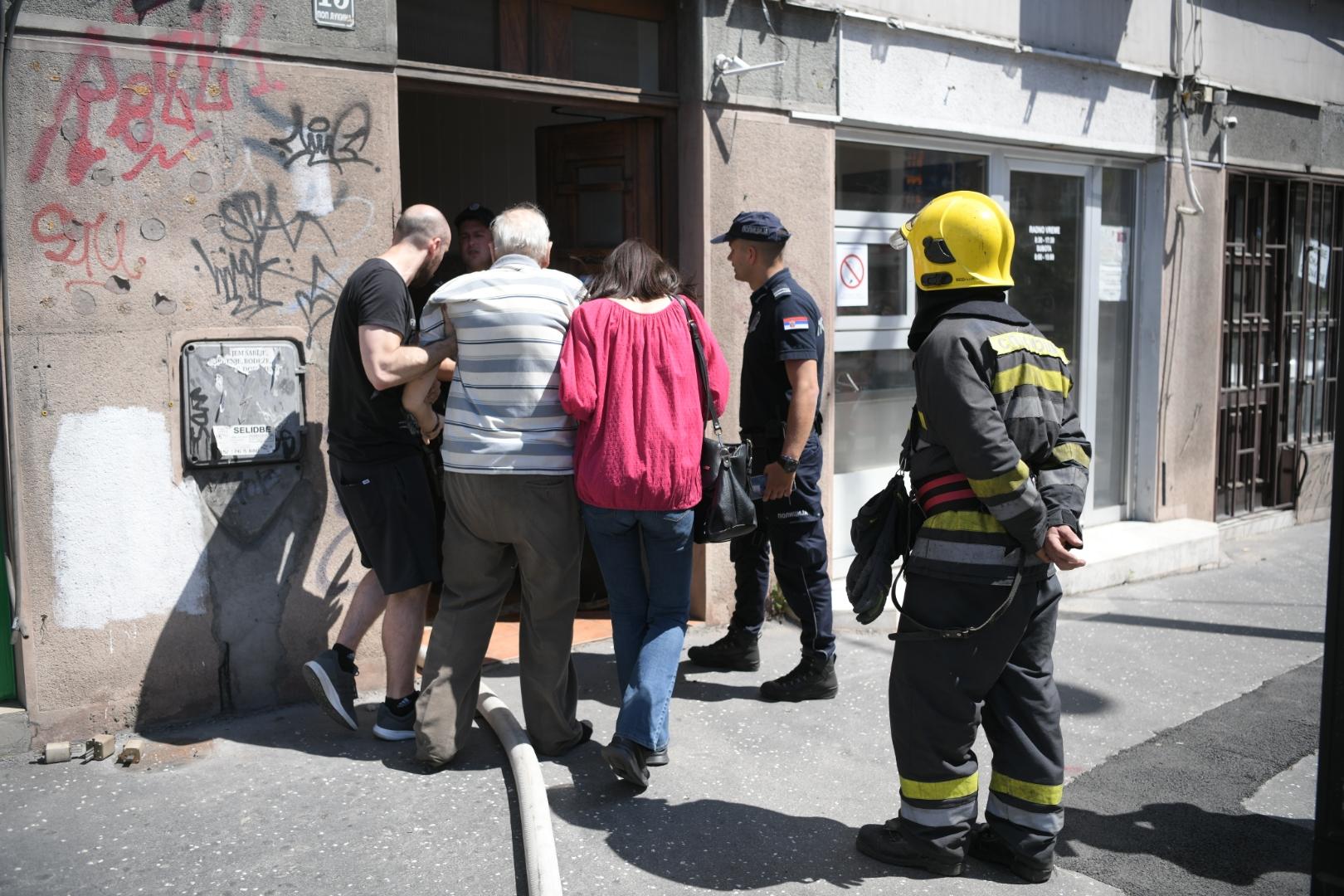 Pop Lukina ulica pozar Nikola Bertolini