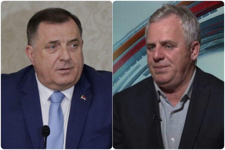 Milorad Dodik i Miladin Stanic