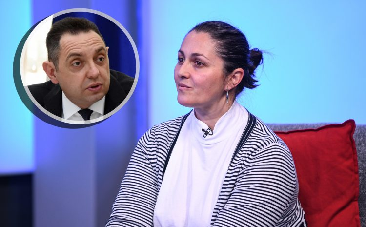 Aleksandar Vulin i Sanja Mihajlovic