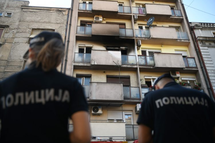Požar, Sarajevska